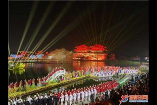 中国开封第38届菊花文化节开幕