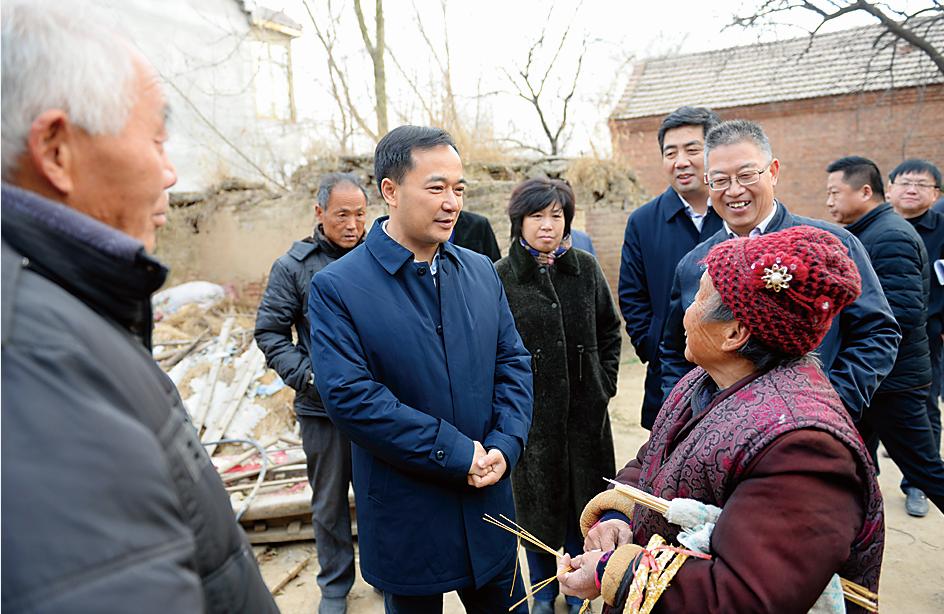 何雄赴范县调研脱贫攻坚和环境污染防治攻坚工作