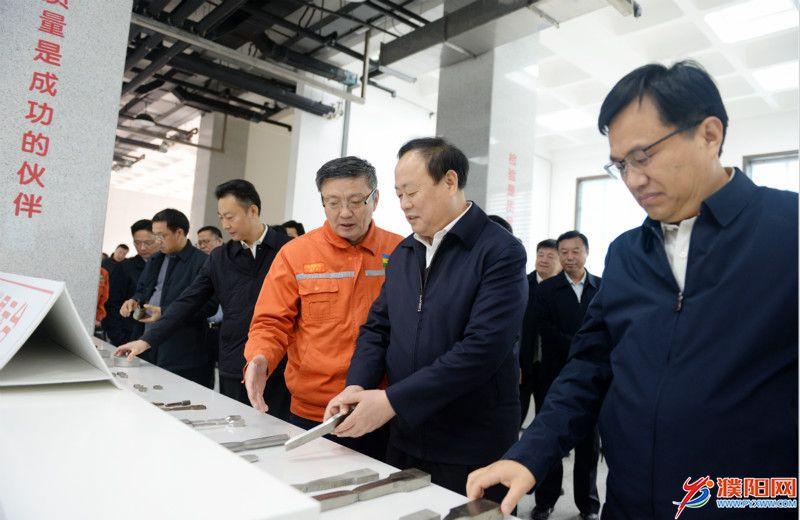 宋殿宇率市党政考察团赴菏泽聊城学习考察