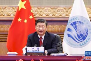 习近平:构建更加紧密的上海合作组织命运共同体
