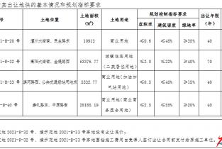 濮阳市自然资源和规划局国有建设用地使用权网上拍卖出让公告