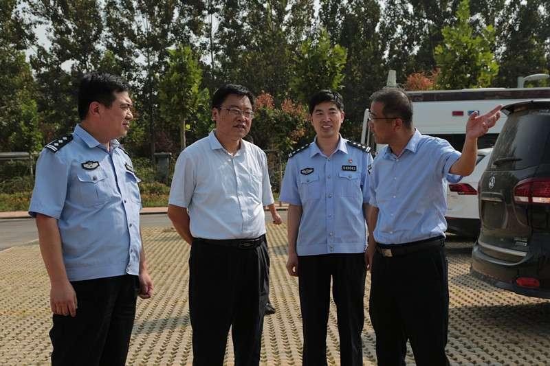 市领导到范县调研指导政法工作