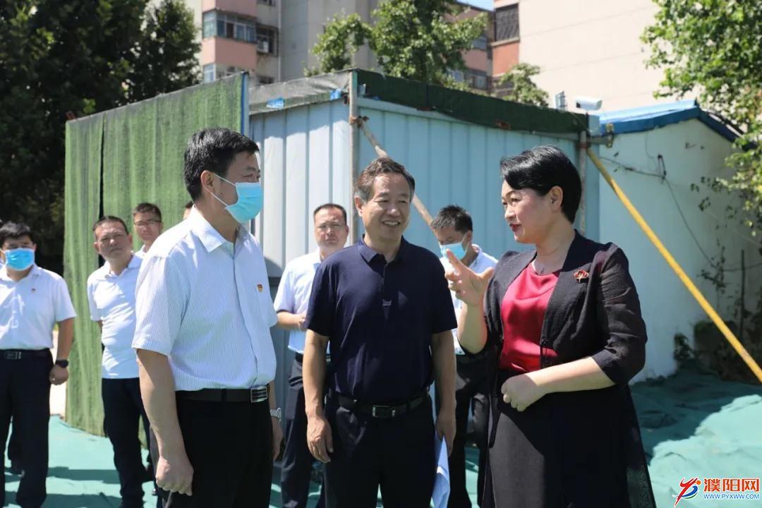 市领导到市二院(市眼科医院) 调研病房楼项目建设