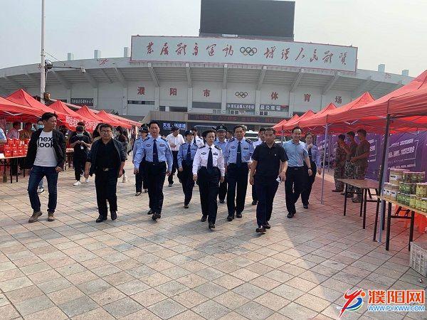 市领导调研中秋国庆期间安保维稳工作