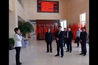 市领导带领省市政协委员到党支部书记学院调研