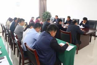 农村党支部书记学院传达学习市领导来院调研讲话精神