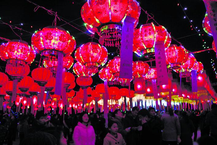 乡村振兴巡礼丨大红灯笼映红了美丽郭庄