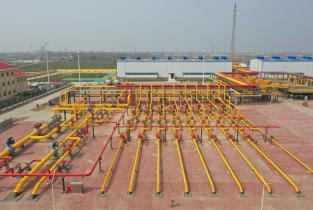 文23储气库项目(一期工程)全面投产注气