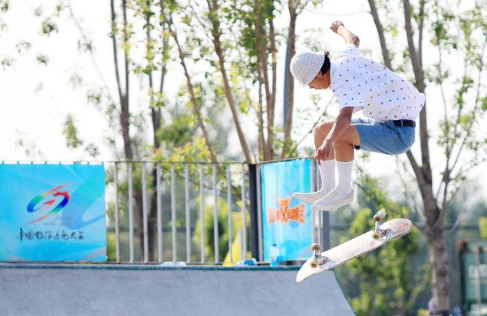 中国极限运动大会三个项目昨日开赛