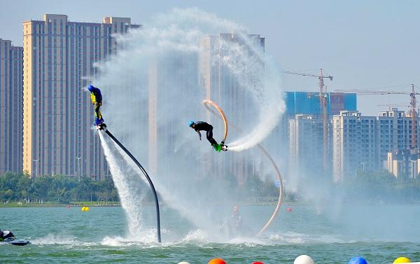 2019中国极限运动大会摩托艇赛开赛
