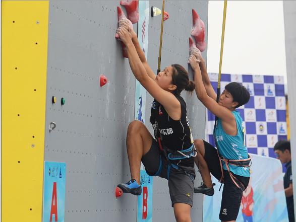 2019中国极限运动大会两个项目昨日开赛