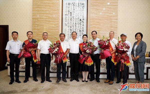 宋殿宇为我市第七届全国道德模范提名奖获得者和2019年度中国好人点赞