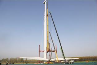华能台前县40兆瓦风电项目开工建设