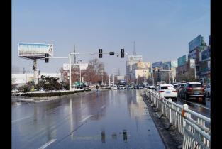 市城区清雪除冰工作基本完成