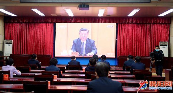 我市组织收听收看纪念中国人民志愿军抗美援朝出国作战70周年大会
