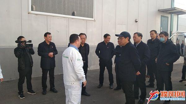 市领导赴清丰县开展调研