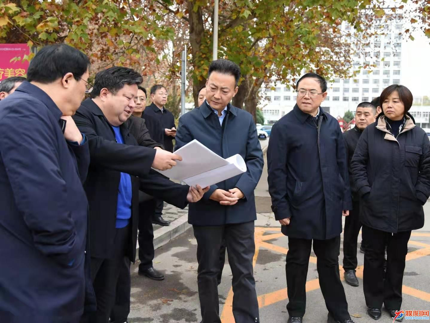 杨青玖调研城市综合提质和城市创建工作