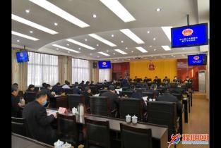 市八届人大常委会第二十次会议召开