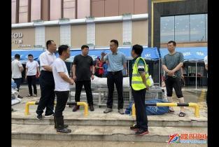 市长杨青玖现场指挥督导防汛抢险工作
