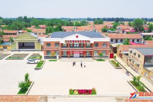 百年风华百村行丨佛善村:红色铺展康庄道