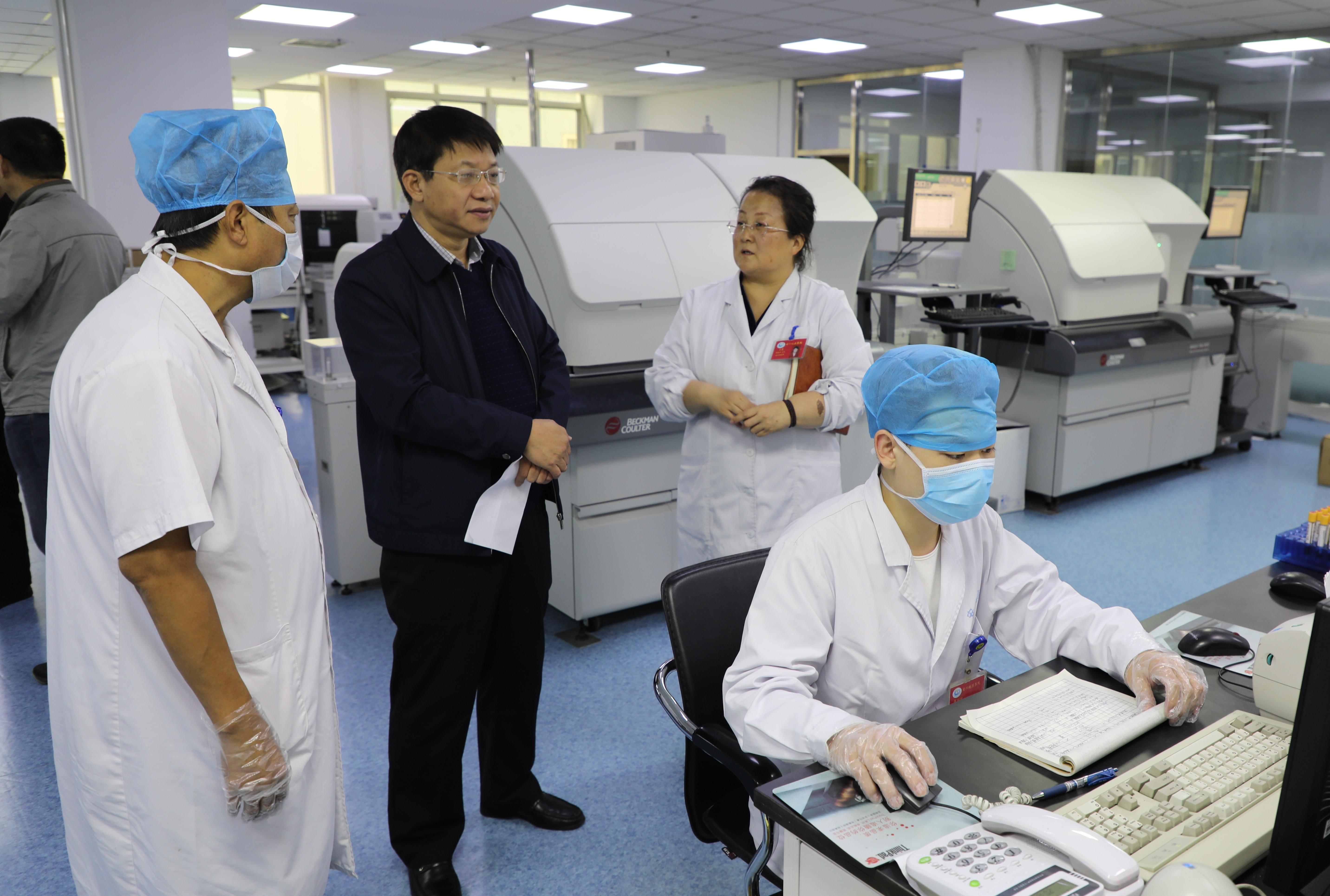 市安阳地区医院PCR实验室顺利通过省级验收
