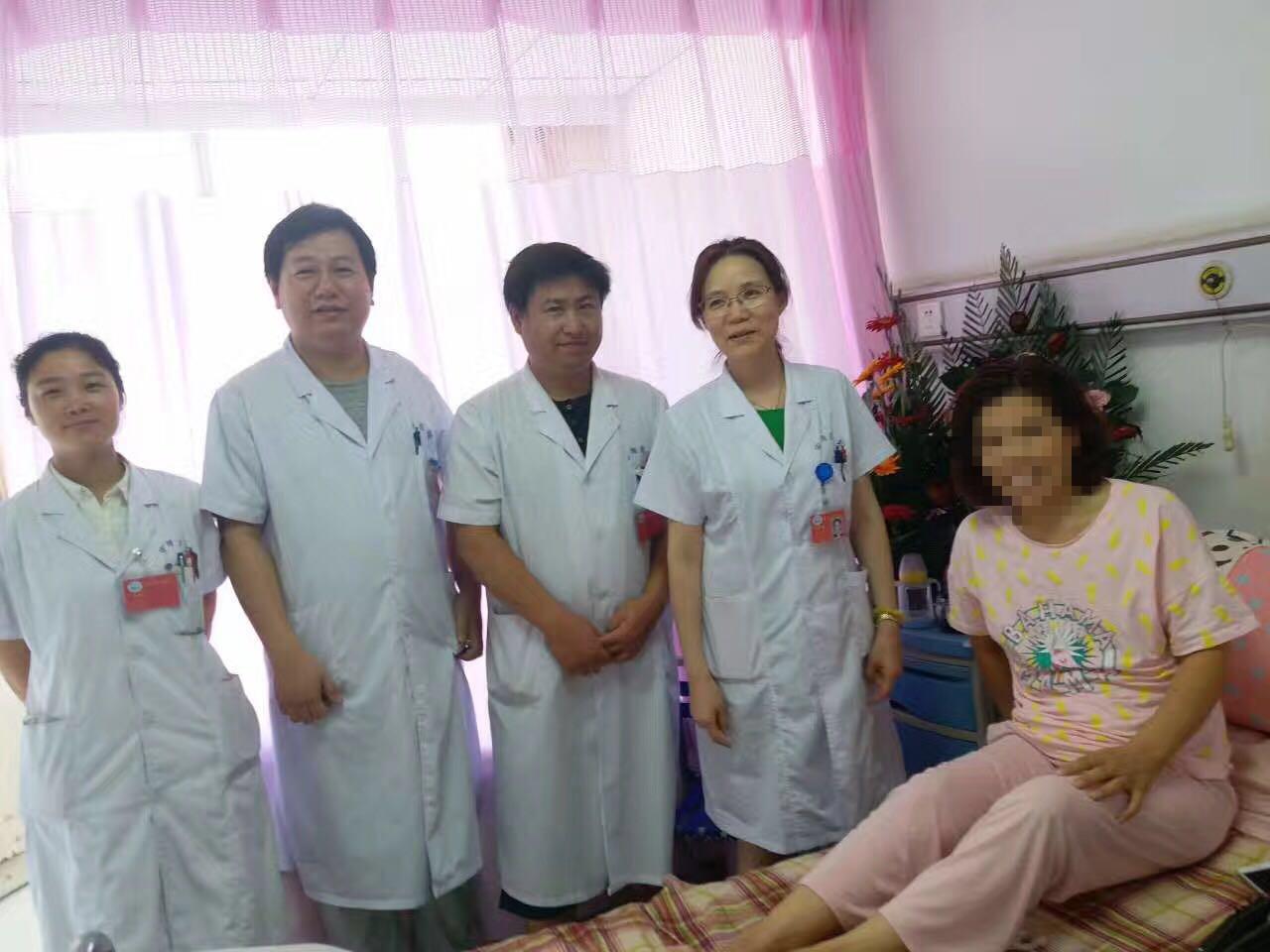 第六次开腹手术,她选择了市安阳地区医院妇产科