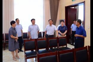 汤阴县委书记宋庆林一行到农村党支部书记学院考察调研