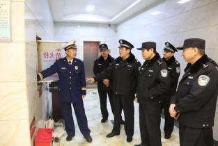 濮阳市公安、消防部门联合开展元宵节消防安全夜查行动
