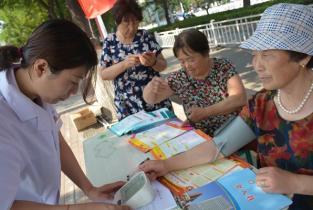 濮阳惠民医院开展无偿献血宣传志愿服务活动