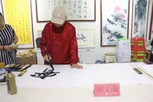 建军节这天,濮阳书画院迎来了这些名家