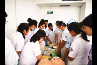 濮阳市眼科医院开展急救技能大比武活动