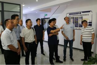 濮阳市司法局调研组到河南昭华律师事务所调研