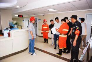 濮阳市眼科医院开展医用气体泄漏事故应急演练