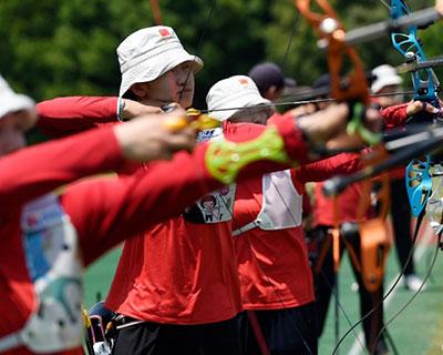 射箭项目东京奥运会模拟赛决出男女个人16强