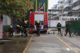濮阳市消防支队组织中队持续开展操法训练