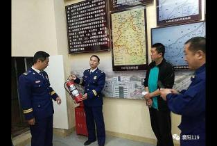 不让遗憾再次发生   濮阳消防开展文物古建筑安全检查