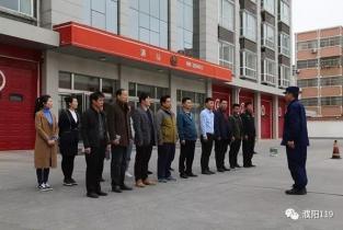 点燃全民消防热情   濮阳消防开展微型消防站培训、比武活动