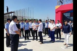 检查|护航首届中国极限运动会