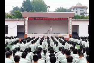 """濮阳县消防救援大队开展""""消防进军训""""活动"""