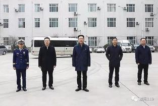 濮阳市长杨青玖走访慰问消防指战员