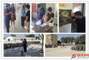 开学第一课丨濮阳支队集中组织开展消防宣传主题教育活动