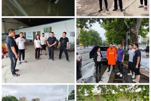 华龙区环卫局:雨后清淤忙不停 作战到底保畅通